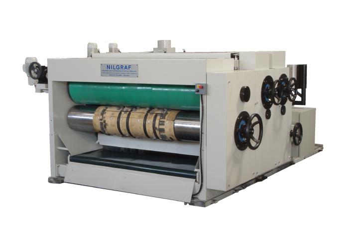 Impressora Flexográfica modelo MGS 1800, 2400, 2800 e 3600